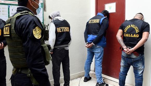 Los sujetos fueron intervenidos por infringir la ley durante la jornada electoral o tener requisitoria vigente. (Foto: Ministerio del Interior)