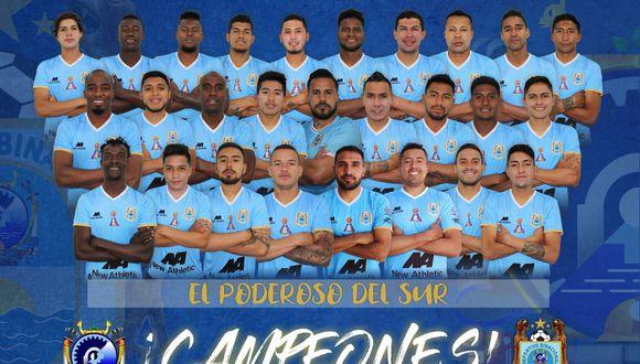 Binacional perdió 2-0 ante Alianza Lima este domingo en Matute, pero se consagró campeón nacional gracias al 4-1 que consiguió en Juliaca. (Foto: Binacional)
