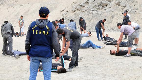 Grupo Terna ha sido cuestionado en las últimas semanas por su participación en las marchas contra el régimen de Manuel Merino. (GEC/Imagen referencial)