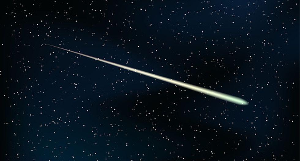 Un objeto luminoso chocó con la tierra según los testigos de distintos puntos de México.(GETTY)