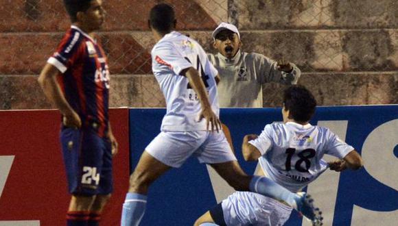 TRIUNFO DE ALTURA. Garcilaso no tuvo piedad de paraguayos y se impuso con categoría. (AFP)