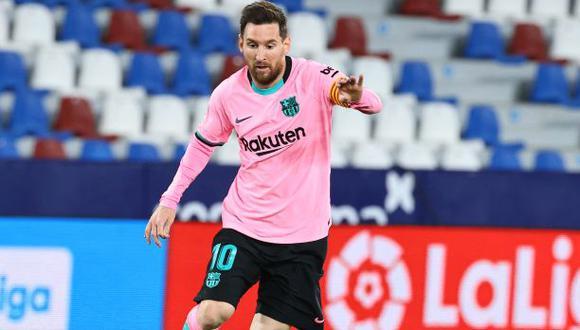Lionel Messi le dijo adiós a Barcelona tras veintiún años. (Foto: AFP)