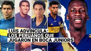 Luis Advíncula: repasa la lista de peruanos que jugaron en Boca Juniors