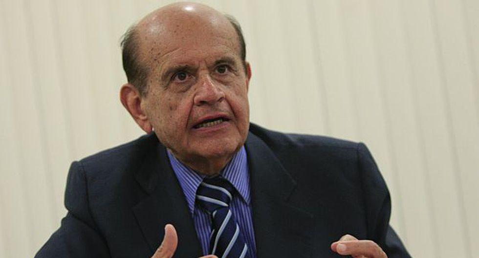 Huberto Speziani fue presidente de la Sociedad Nacional de Pesquería. (Manuel Melgar)