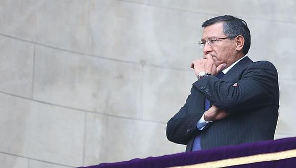 'El ácido' en Palacio. Crecen las sospechas en torno a Adrián Villafuerte. (Rafael Cornejo)