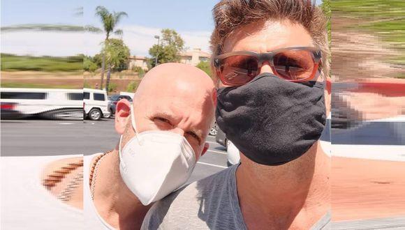 Christian Meier y Gian Marco se reecuentran en California y envían importante consejo.