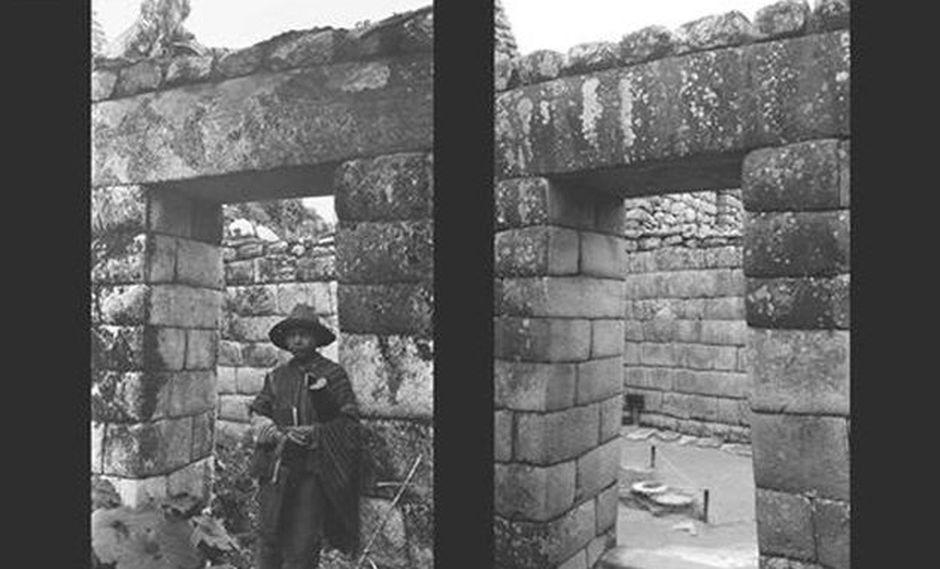Fotografías comparativas de Machu Picchu (Ministerio de Cultura)