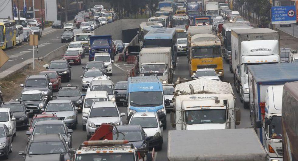 La congestión vehicular es uno de los principales problemas que afecta a Lima. (Foto: El Comercio)