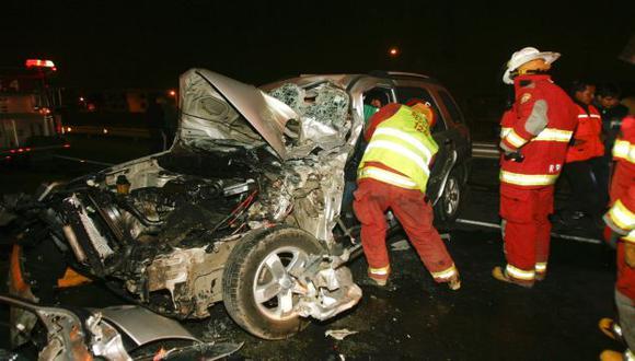 Preocupante realidad. Conductores no toman conciencia y a diario protagonizan trágicos accidentes en la capital. (USI)