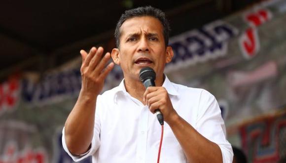 Ollanta Humala defendió la política social de su gobierno. (USI)