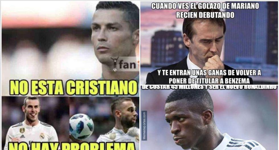 Los mejores memes de la victoria de Real Madrid sobre Espanyol en Liga Santander. (Foto: Facebook)
