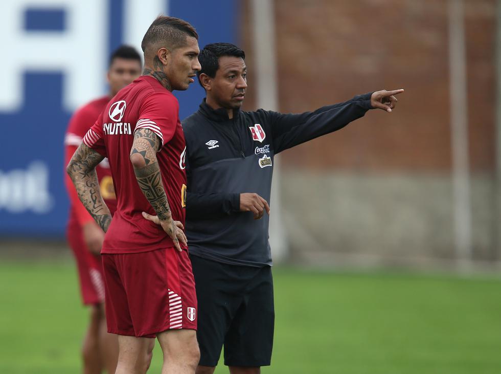 Solano también estacó la continuidad del proceso liderado por Ricardo Gareca bajo el respaldo de la Federación Peruana de Fútbol. (USI)