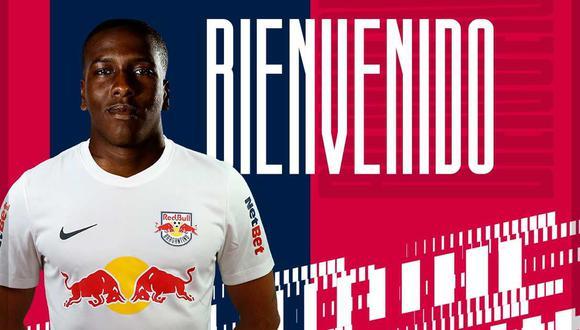 Jan Hurtado jugará en el Red Bull Bragantino de Brasil, cedido por Boca Juniors. (Foto: @RedBullBraga)