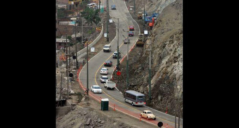 IMPORTANTE OBRA. Viaducto estaría listo para el año 2018. (Perú21)