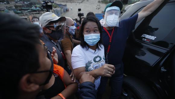 Fujimori confirmó que viajará a Cajamarca para encuentro con Castillo. (Foto:  Archivo GEC)