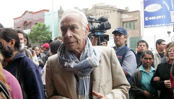 Eduardo Cesti se encuentra internado en una casa reposo. (Peru21)