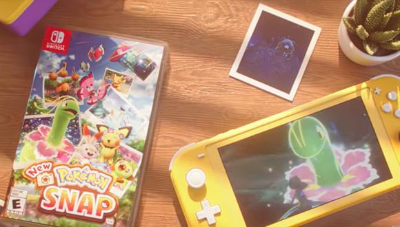'New Pokémon Snap' llegará en exclusiva a Nintendo Switch.