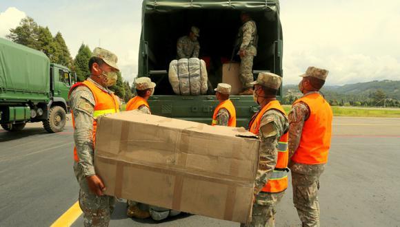 Cajamarca: hacen entrega de 4 toneladas de ayuda humanitaria para damnificados por lluvias (Foto: Gore Cajamarca)