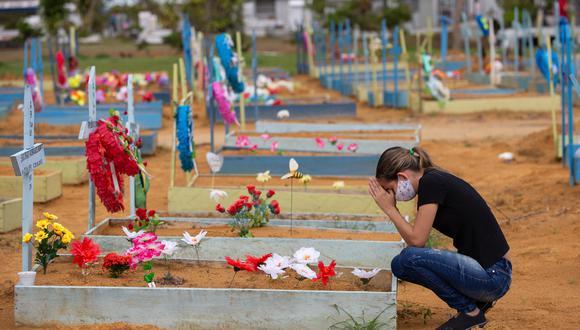 Las cifras parecen confirmar la teoría de los expertos que desde semanas atrás han anunciado la llegada de una tercera ola de la pandemia a Brasil. (Foto: Michael DANTAS / AFP)