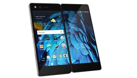 Este es el ZTE Axon M, el nuevo smartphone plegable de doble pantalla