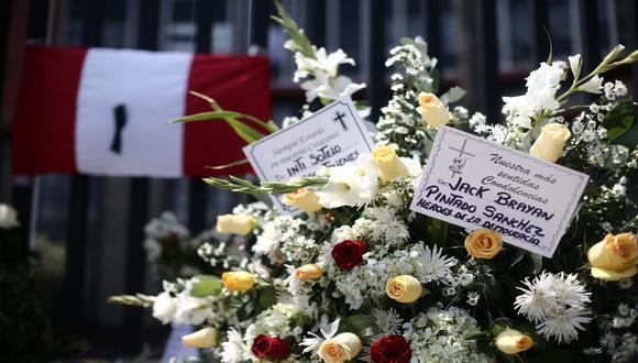 Jack Brian Pintado Sánchez (22) y Jordan Inti Sotelo Camargo (24), fallecieron tras la marcha nacional contra el régimen de Manuel Merino. (Foto: Jesús Saucedo /@photo.gec)