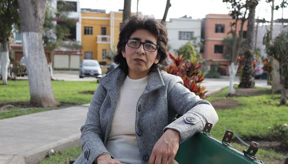Marlene Navarrete, profesora del I.E. N°072 en Magdalena. Tiene 30 años de experiencia.