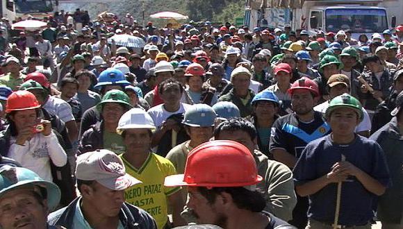 Gremio de mineros informales no cede. (USI)