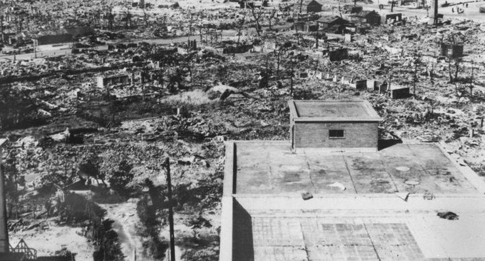 La bomba del 6 de agosto ocasionó la muerte a 140,000 personas. (AFP)