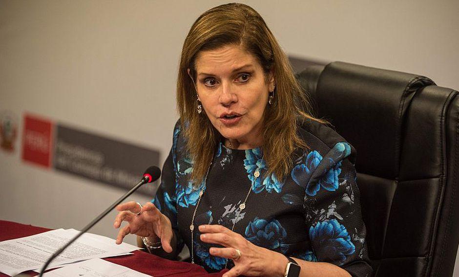 Mercedes Araoz dijo que no es bueno que la Comisión de Fiscalización vaya más allá de sus funciones. (Foto: GEC)