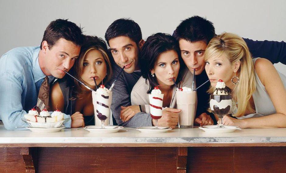"""""""Friends"""", que se estrenó el 22 de septiembre de 1994.  (Foto: FRIENDS - TV Show) (Foto: FRIENDS - TV Show)"""