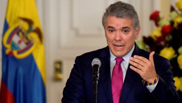 """Según Iván Duque, el narcotráfico """"destruye ecosistemas, amenaza y asesina líderes sociales"""". (Foto: AFP)"""