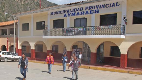 La Fiscalía Especializada en delitos de Corrupción de Funcionarios de Abancay logró que se condenara a los exfuncionarios. (Foto: Andina)