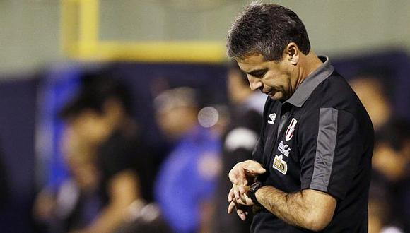 Bengoechea finaliza su contrato con la selección peruana en diciembre de este año. (Reuters)