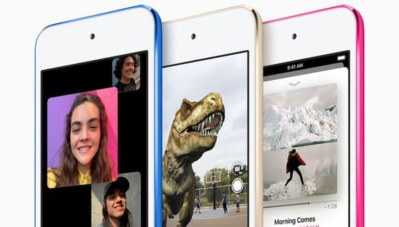 El iPod touch es básicamente un iPhone sin la función telefónica. Estará disponible desde 199 dólares. (Foto: Apple)