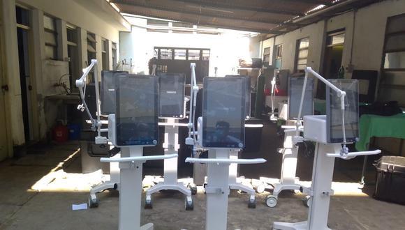 La Libertad: hospital regional recibe diez ventiladores mecánicos para pacientes COVID-19 (Foto: Gore La Libertad)