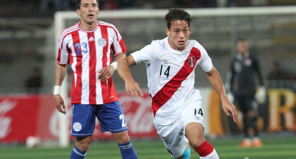 Cristian Benavente jugó su último partido con Perú en marzo pasado ante Islandia. (Foto: USI)