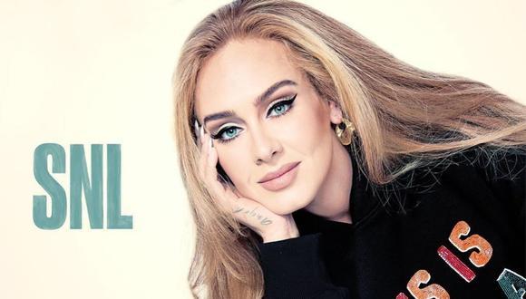 Adele se presentó el sábado 24 en Saturday Night Live. (Foto: Instagram / @nbcsnl).