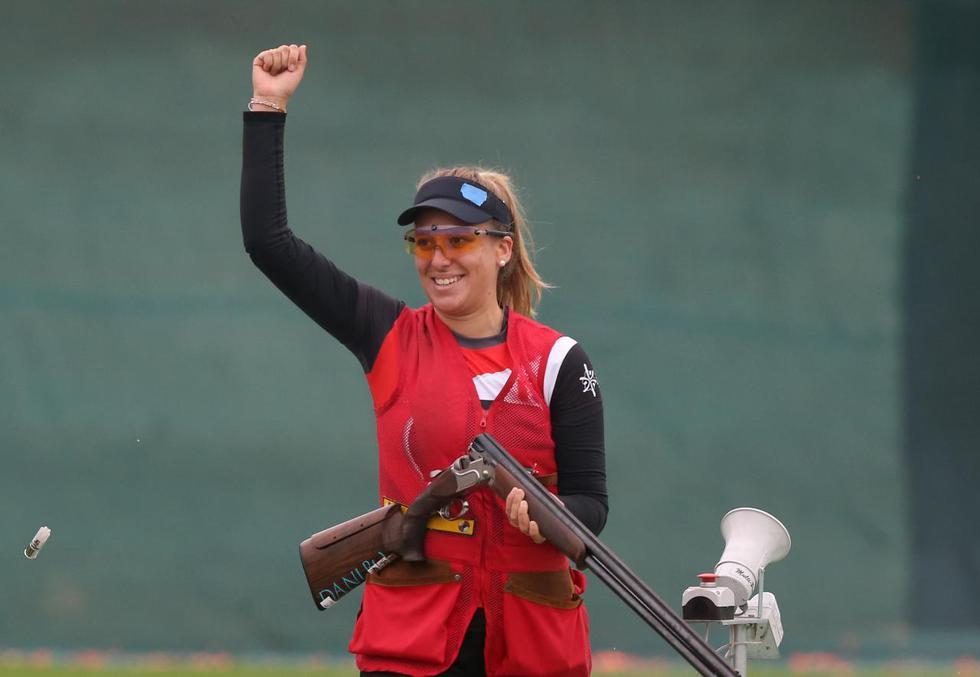 Peruana ya tiene asegurado un lugar en el podio de la final. (Violeta Ayasta/GEC)