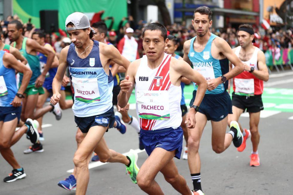 Partida de maratón hombres: Pacheco y Canchaya nos representan en Lima 2019. (Foto: Giancarlo Ávila)