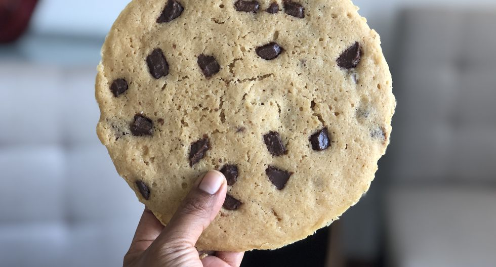 Una galleta deliciosa.