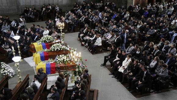 A finales de junio, los cuerpos de los periodistas fueron hallados en la frontera de Ecuador y Colombia. (Foto: AP)