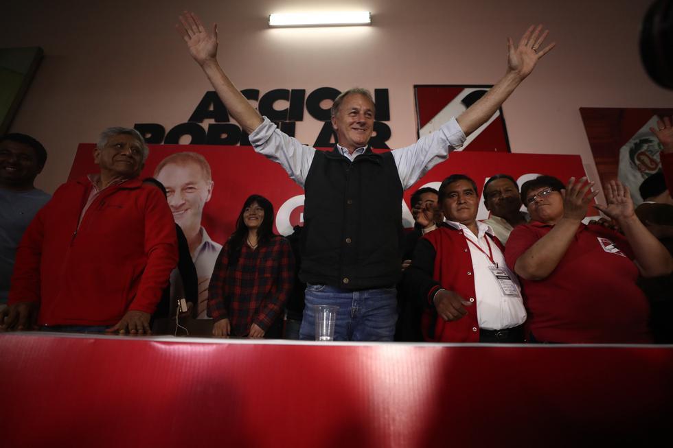 """Jorge Muñoz descartó un """"copamiento partidario"""" de la Municipaldia de Lima. (César Campos/Perú21)"""