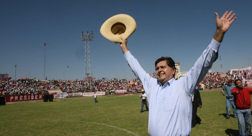 Arequipa también lo recibió cuando estaba en plena campaña electoral, en 2006. (Foto: GEC)