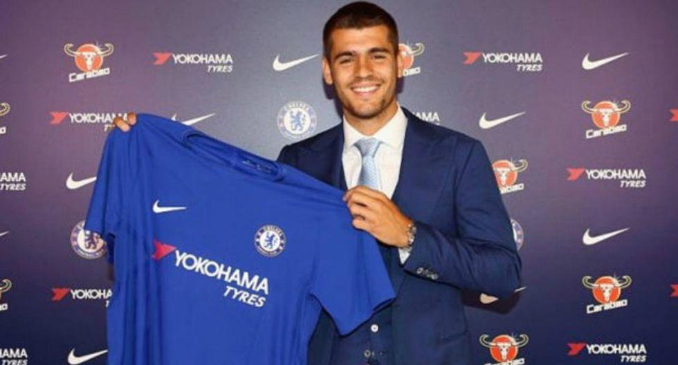 Álvaro Morata vestirá la camiseta del Chelsea. (Chelsea/Facebook)