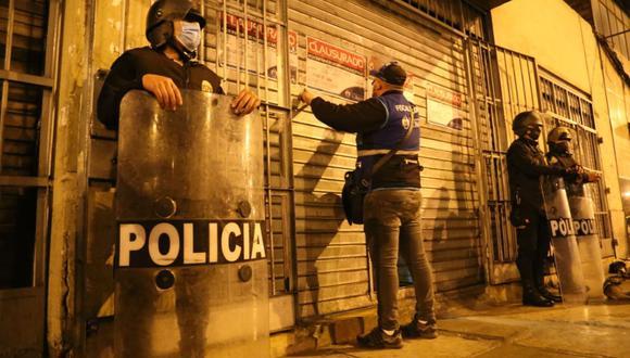 Las autoridades presumen que el restobar también funcionaba como prostíbulo clandestino. (Foto: Municipalidad de Lima)