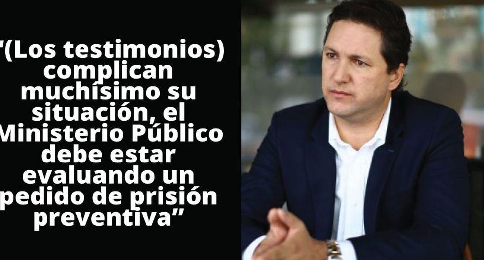 Congresista indicó que Humala debería estar en prisión de manera previsional. (Luis Centurión)