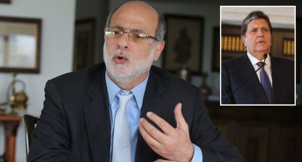 Abugattás se refirió a narcoindultos durante gestión de García. (USI/Martín Pauca)
