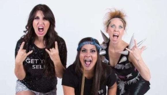 Katia Palma, Patricia Portocarrero y Saskia Bernaola se reencuentran en show virtual. (Foto: V&V comunicaciones)
