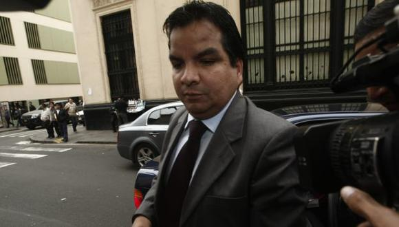 APUNTA A EXMINISTRO. Arbizu insistirá con detención de Pastor. (César Fajardo)