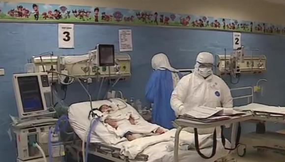 Hospital especializado de Villa El Salvador atiende a los niños peruanos que luchan contra el COVID-19. (América Noticias)